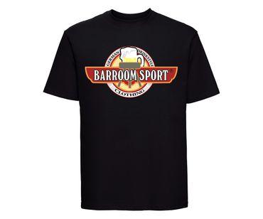 Barroom Sport Männer T-Shirt Drinkstyle Clothing Logo – Bild 2