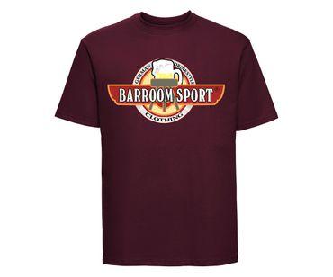 Barroom Sport Männer T-Shirt Drinkstyle Clothing Logo – Bild 8