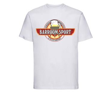 Barroom Sport Männer T-Shirt Drinkstyle Clothing Logo – Bild 4