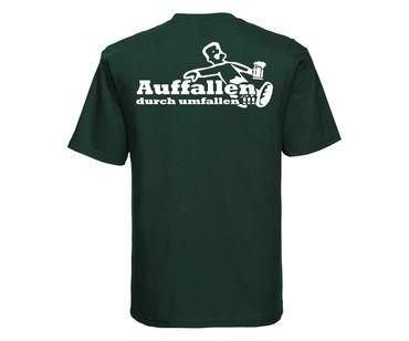 Auffallen durch umfallen Barroom Sport Männer T-Shirt – Bild 6