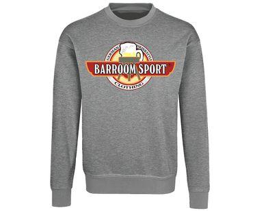 Barroom Sport Männer Pullover Drinkstyle Clothing Logo – Bild 5