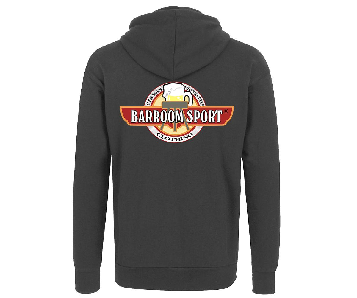 Barroom Sport Männer Kapuzenjacke Drinkstyle Clothing Logo – Bild 2