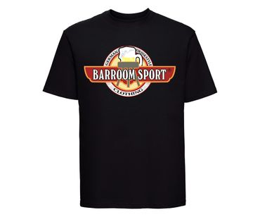 Drink Fuck Fight Barroom Sport Männer T-Shirt – Bild 5