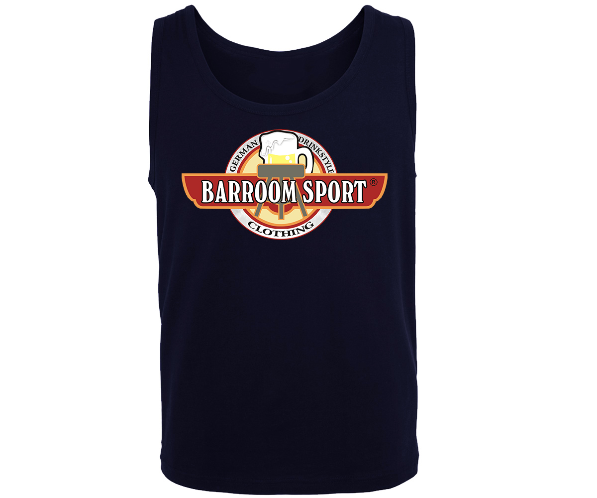 Barroom Sport Männer Muskelshirt Drink Fuck Fight – Bild 1