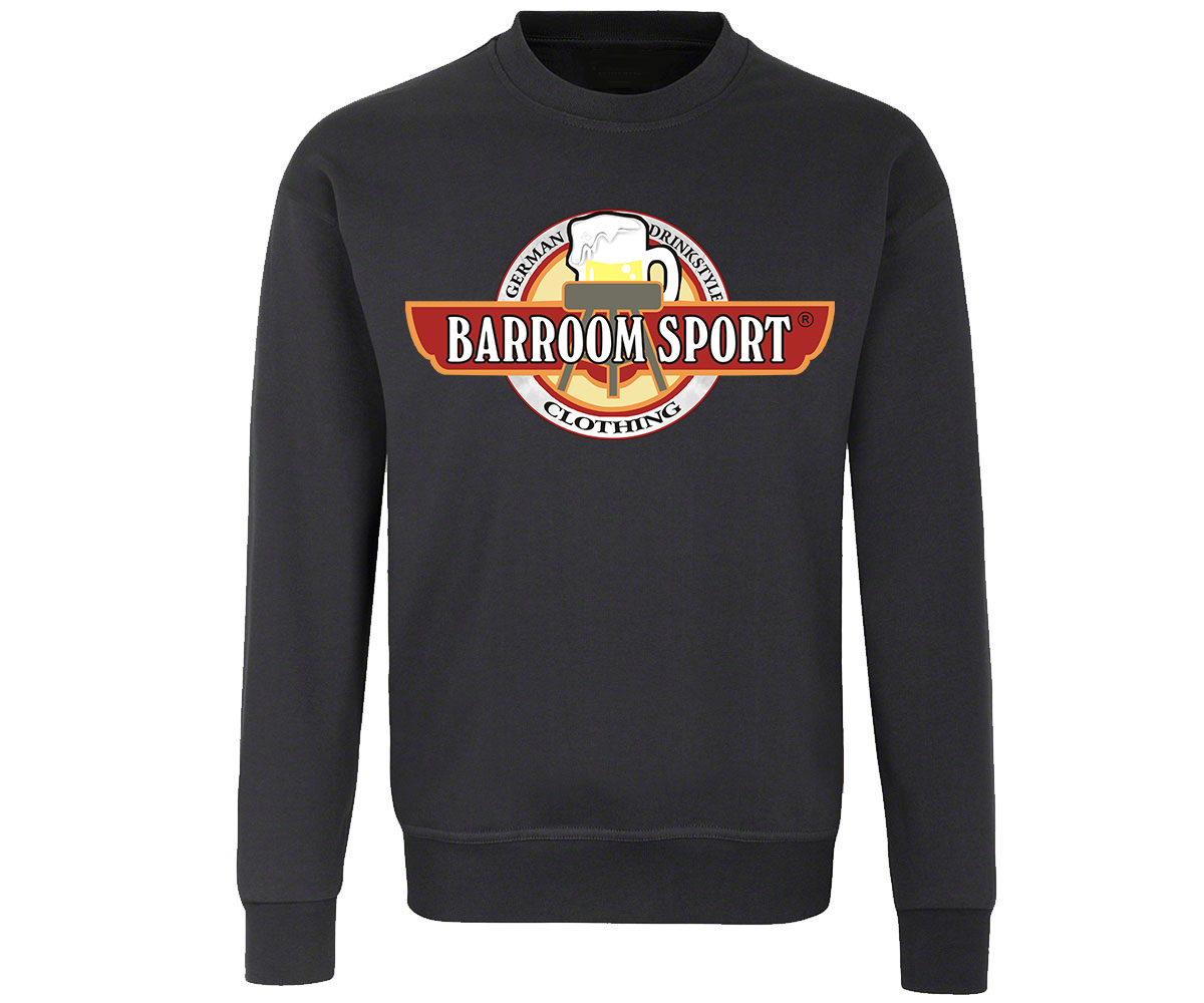 Barroom Sport Männer Pullover Drink Fuck Fight – Bild 1