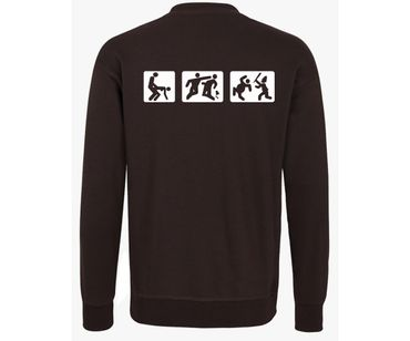 Barroom Sport Männer Pullover Drink Fuck Fight – Bild 6
