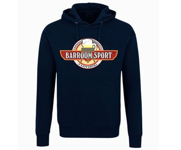 Barroom Sport Männer Kapuzenpullover Drink Fuck Fight  – Bild 1