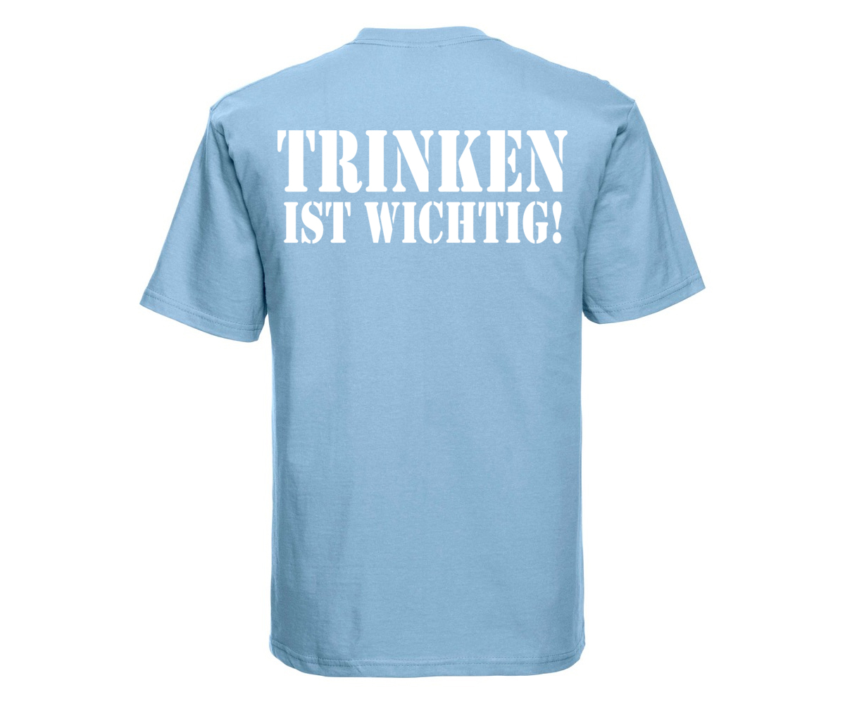 Barroom Sport Trinken ist wichtig Männer T-Shirt – Bild 8