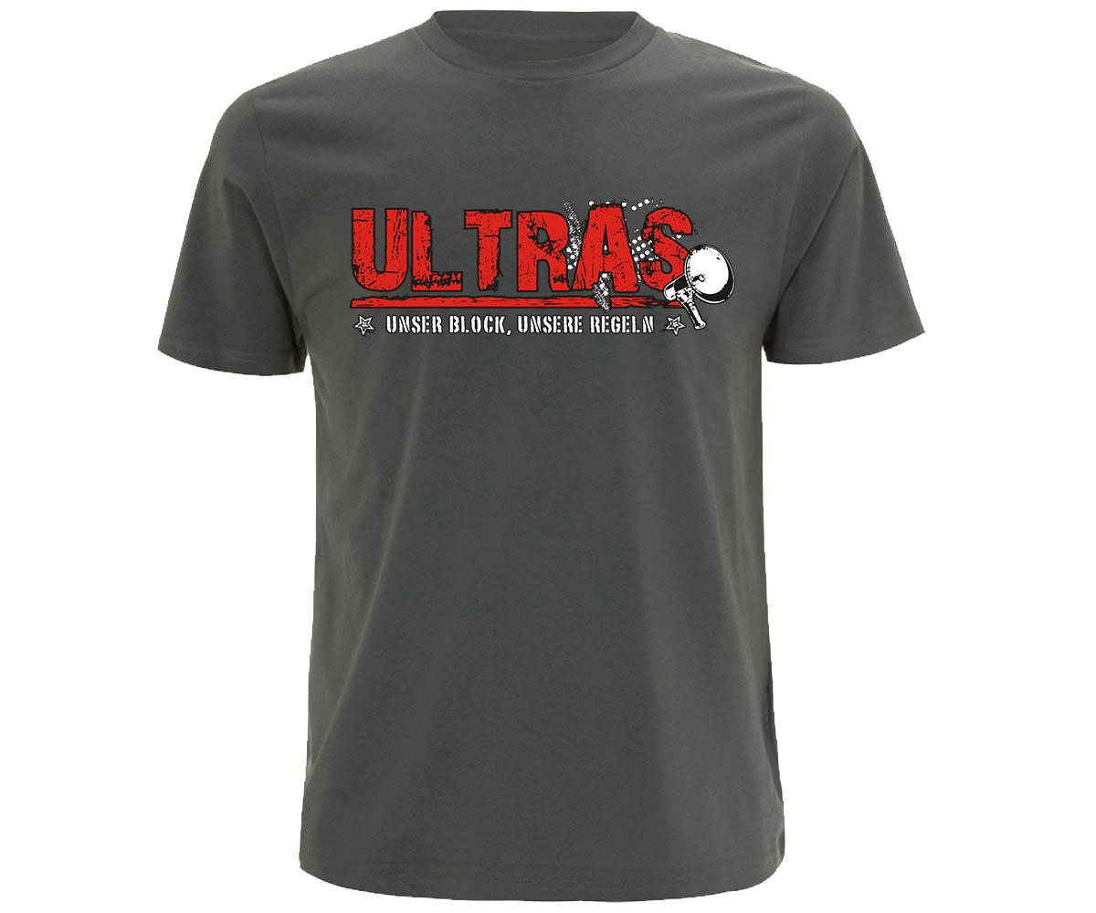 Ultras Unser Block unsere Regeln Männer T-Shirt  – Bild 3