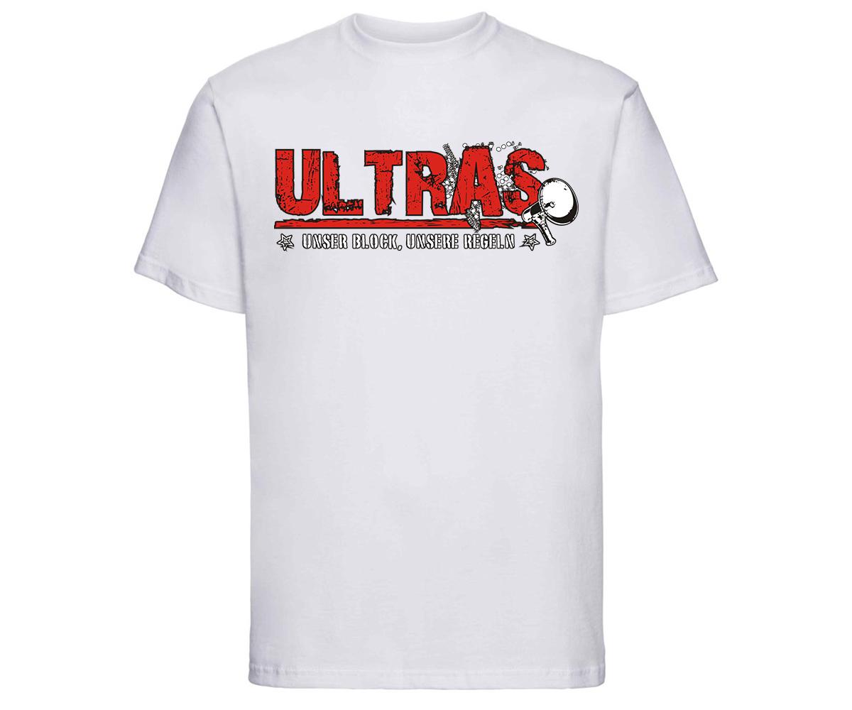 Ultras Unser Block unsere Regeln Männer T-Shirt  – Bild 11