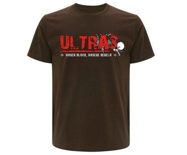Ultras Unser Block unsere Regeln Männer T-Shirt  – Bild 2