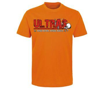 Ultras Unser Block unsere Regeln Männer T-Shirt  – Bild 10