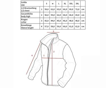 Harrington Jacke Wolle Winter – Bild 2