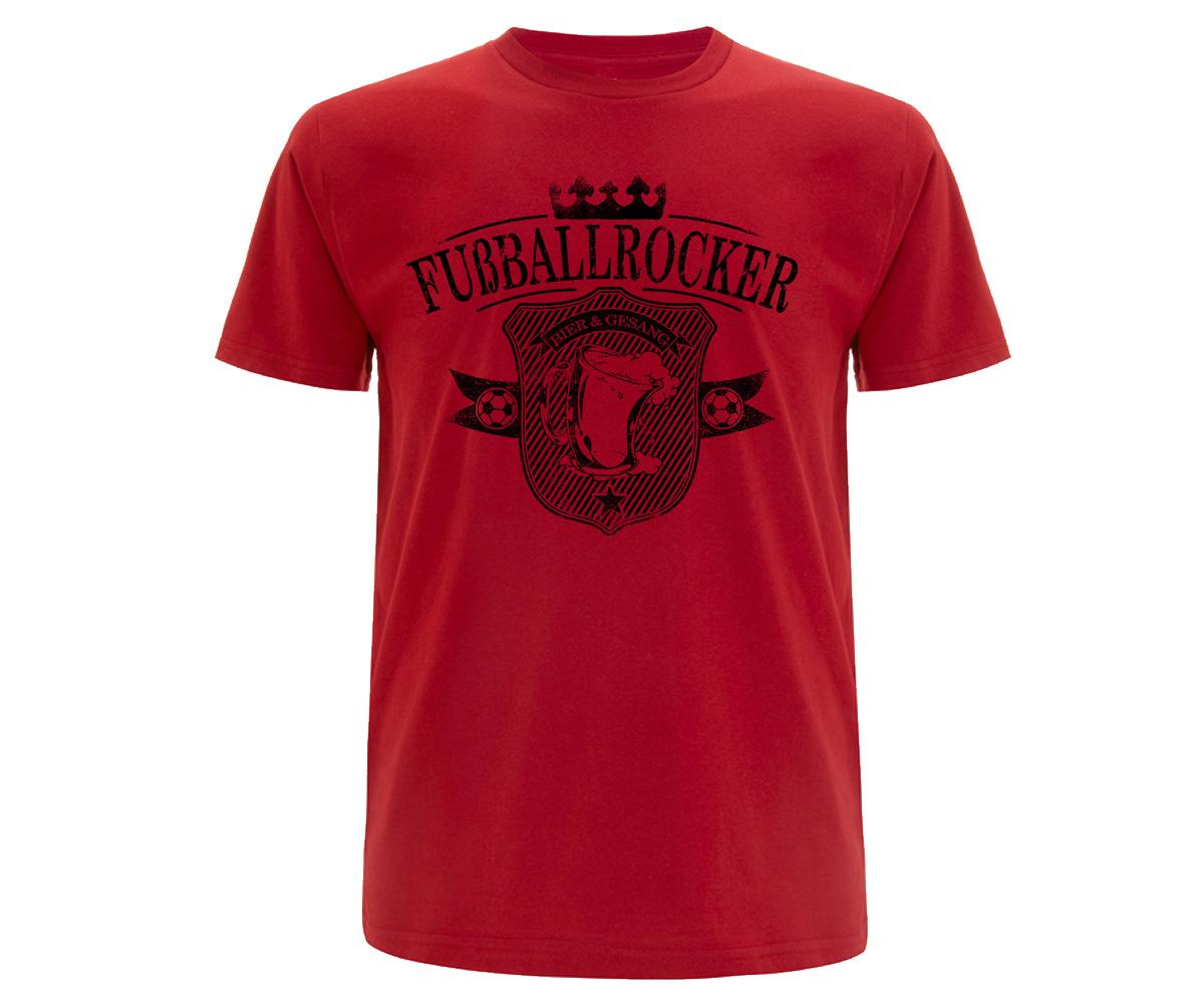 Bier und Gesang Fußballrocker Männer T-Shirt  – Bild 2
