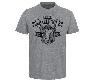 Bier und Gesang Fußballrocker Männer T-Shirt  – Bild 1