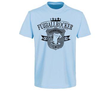 Bier und Gesang Fußballrocker Männer T-Shirt  – Bild 4