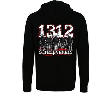 Scheißverein 1312 Hardcorps Männer Kapuzenjacke – Bild 2