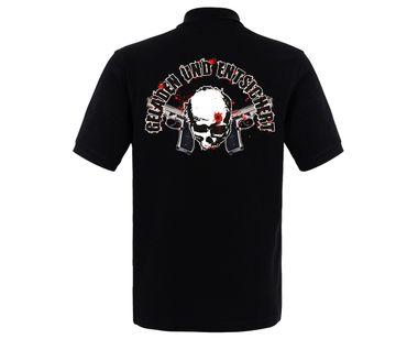 Geladen und entsichert Hardcorps Männer Polo Shirt – Bild 2