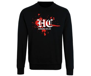 Hardcore for life Blood Männer Pullover – Bild 1