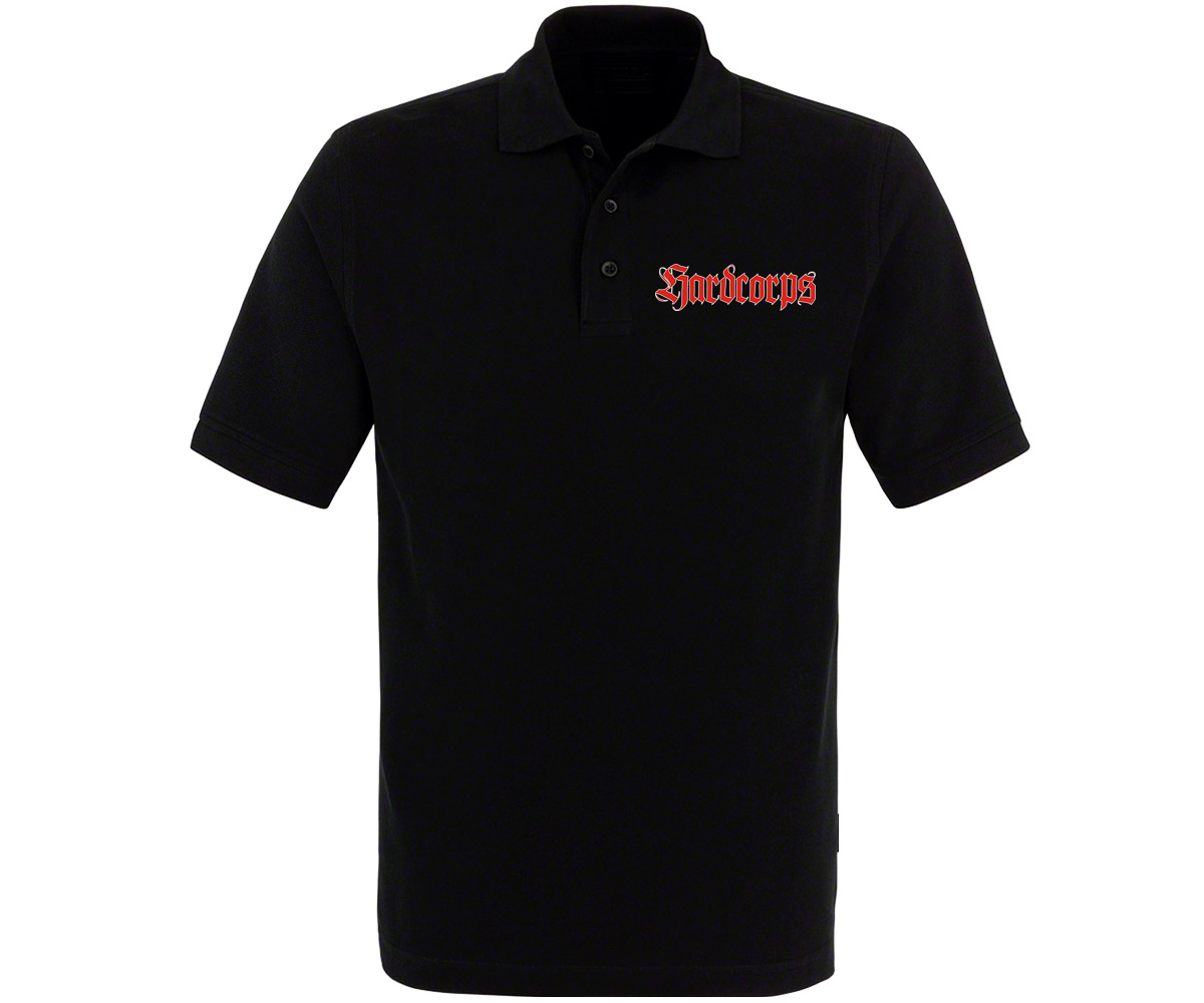 Next stop Walhalla Hardcorps Männer Polo Shirt – Bild 1
