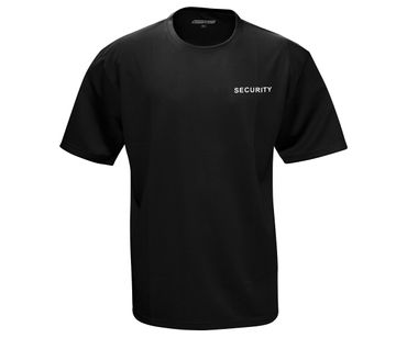 Security Männer T-Shirt Quickdry – Bild 1