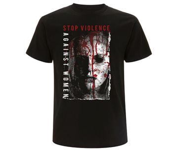 Stop violence against women Männer T-Shirt  – Bild 1