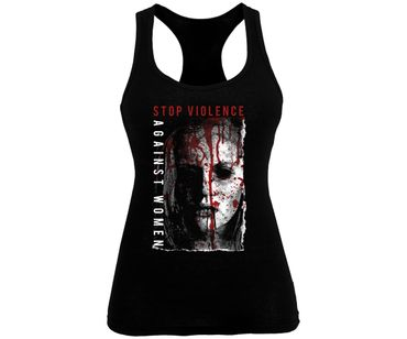 Stop violence against women Frauen Tank Top – Bild 1