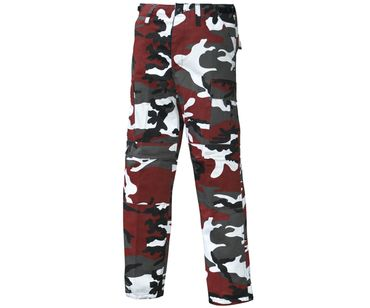 Army Cargo Outdoor Hose red camo – Bild 1