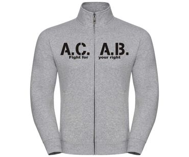 ACAB Fight for your right Männer Freizeitjacke – Bild 1