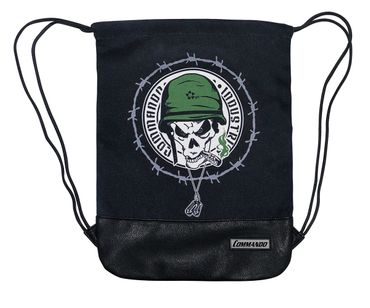 Commando Soldat Turnbeutel Gym Bag