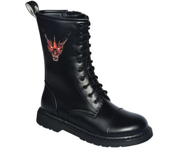Dark Creationz 10 Loch Ranger Boots Devil