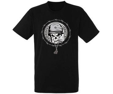 Heroes Line T-Shirt Skull