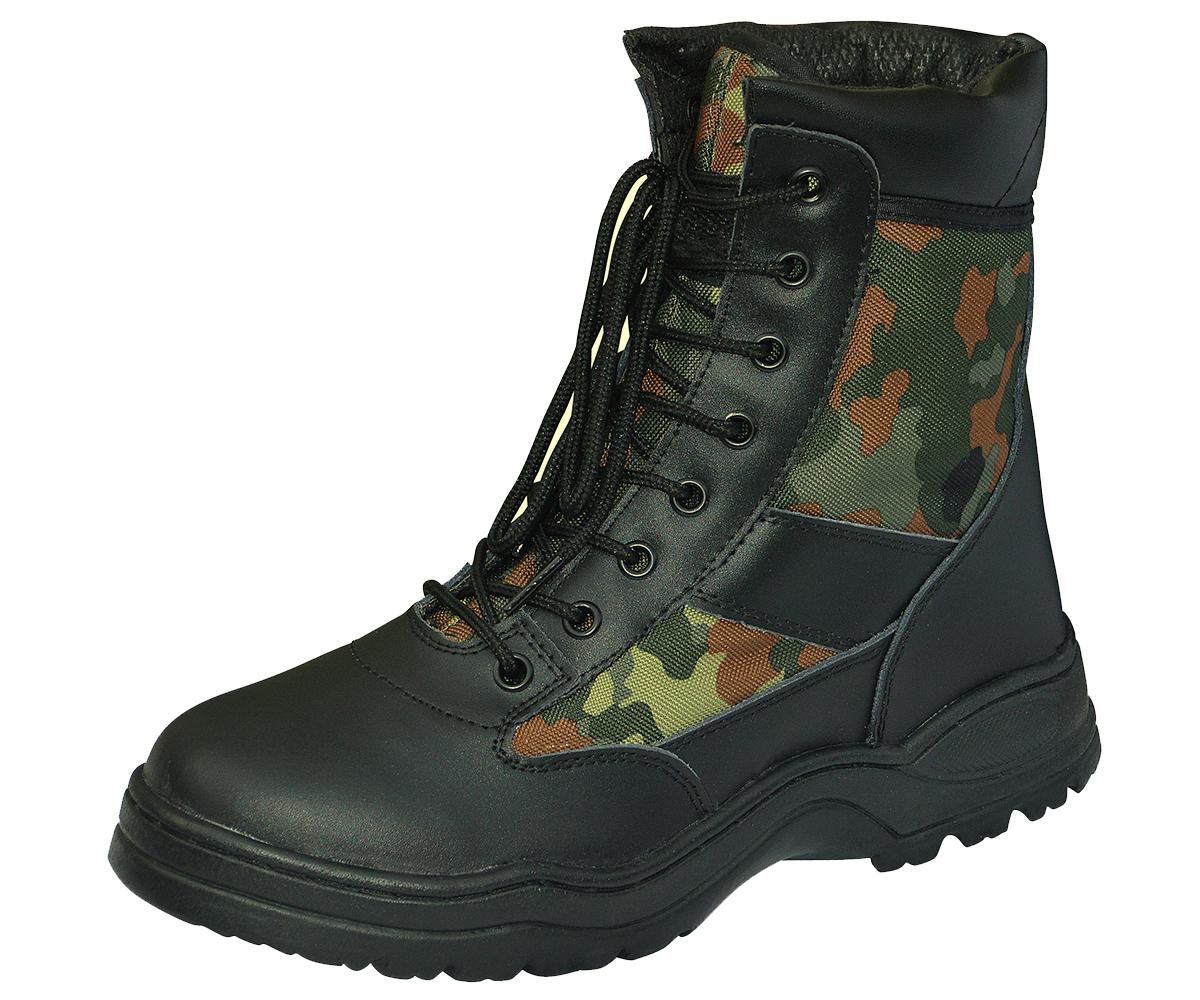 Outdoor Boots Classic Flecktarn – Bild 1