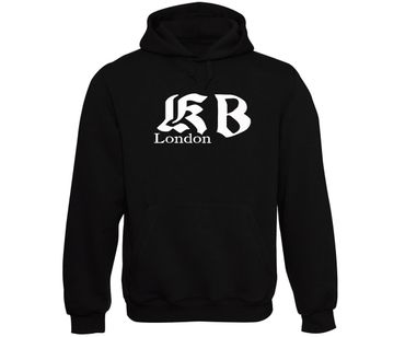 KB London Logo Kapuzenpullover