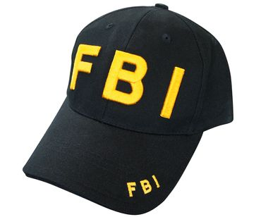 FBI Cap 3D Stick