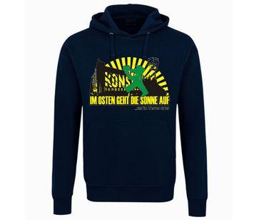Im Osten geht die Sonne auf Männer Kapuzenpullover – Bild 2
