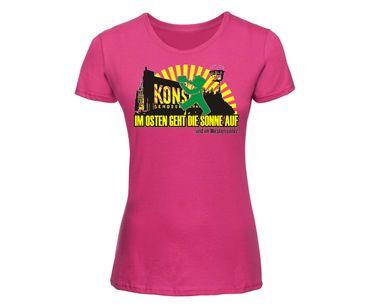 Im Osten geht die Sonne auf Frauen Shirt – Bild 7