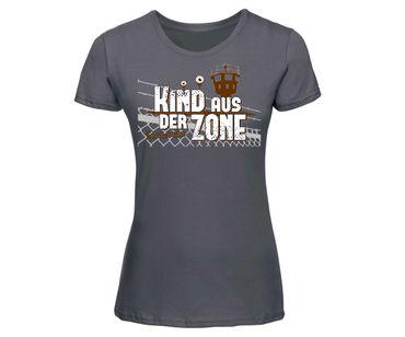 Kind aus der Zone Frauen Shirt – Bild 1