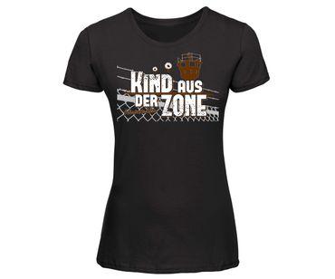 Kind aus der Zone Frauen Shirt – Bild 2