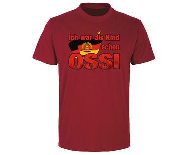 Ich war als Kind schon Ossi Männer T-Shirt  – Bild 6