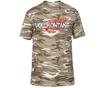 Vollkontakt Männer camo T-Shirt  – Bild 2