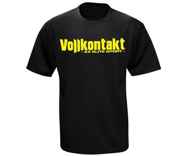 Vollkontakt 22 Elite Sport Männer Quickdry Sport Shirt  – Bild 1