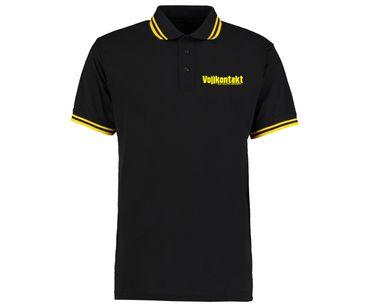 Vollkontakt 22 Elite Sport Männer Polo Streifen Shirt – Bild 1