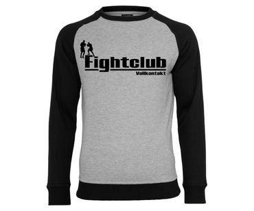 Fight Club Vollkontakt Männer Pullover 2tone – Bild 1