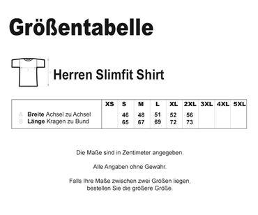 No respect Lass krachen Männer T-Shirt 2tone – Bild 2