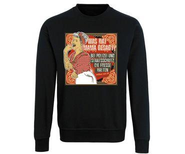 Was hat Mama gesagt Männer Pullover – Bild 1