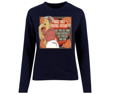Was hat Mama gesagt Frauen Pullover – Bild 2