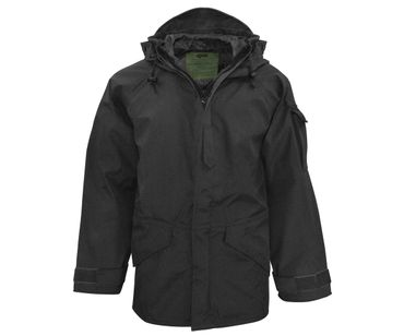 Cold Weather Regen Parka schwarz