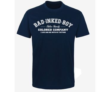 Bad inked boy Tattoo Family Männer T-Shirt  – Bild 3