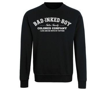 Bad inked boy Tattoo Family Männer Pullover – Bild 2